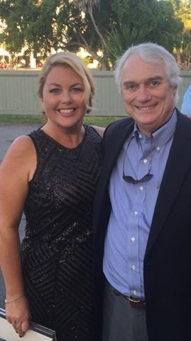 Cara Higgins and Bob Eadie at the 2015 Reagan Dinner