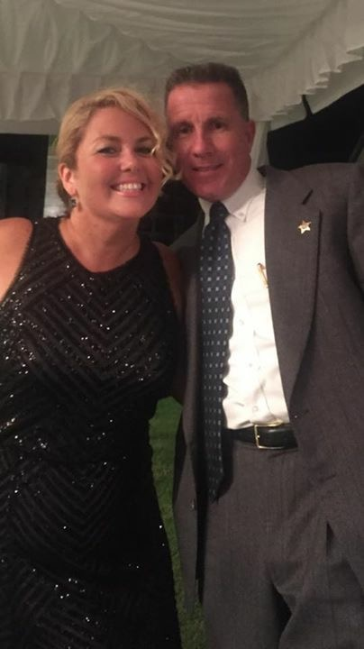 Cara Higgins and Sheriff Rick Ramsay at the 2015 Reagan Dinner