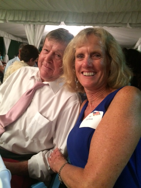 Sue and Doug Harrison at the 2015 Reagan Dinner