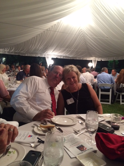Mary and Ron Demes at the 2015 Reagan Dinner