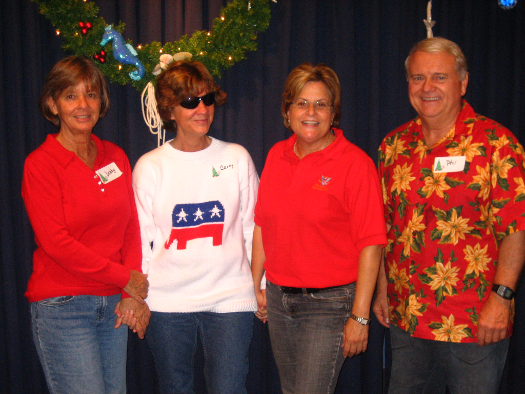 2008 Christmas Luncheon with Congresswoman Ileana Ros-Lehtinen