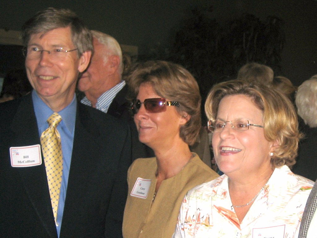 2008 Reagan Dinner with Attorney General Bill McCollum and Congresswoman Ileana Ros-Lehtinen