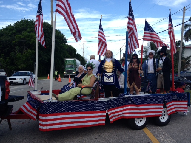 4th of July parade Key Largo 2013