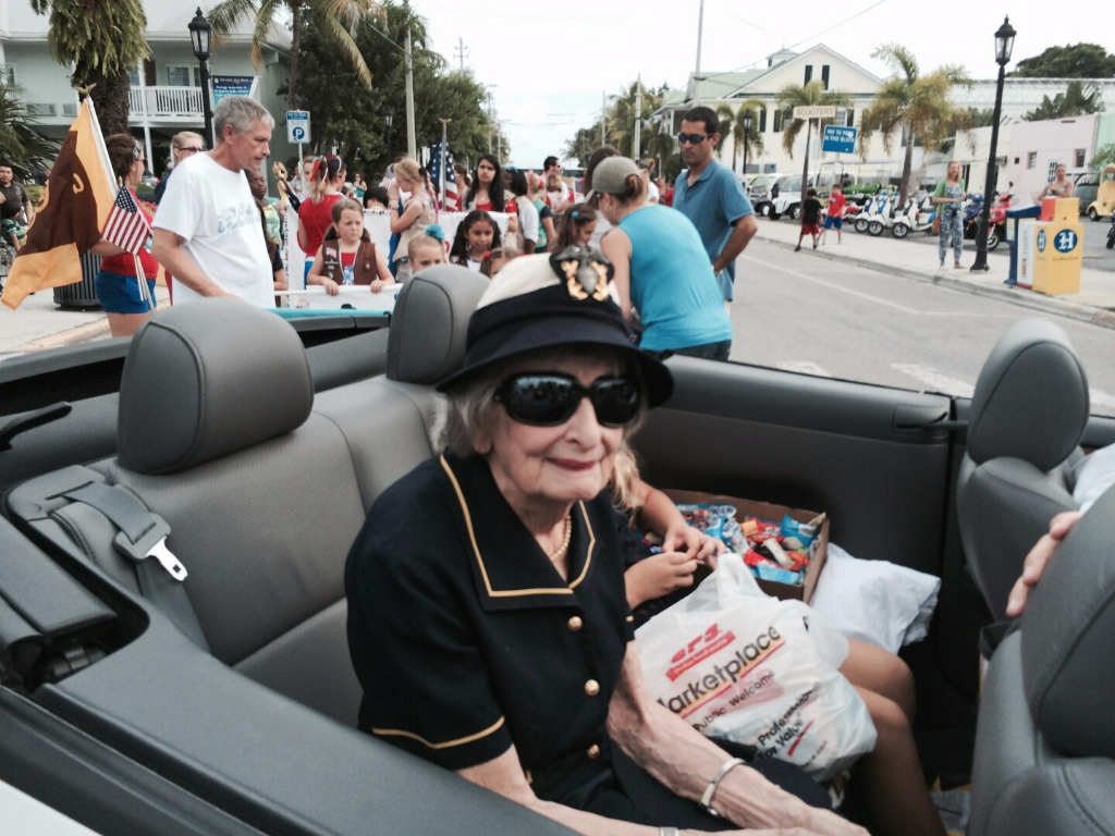 Eloise Keiser, Veterans Day Parade 2013
