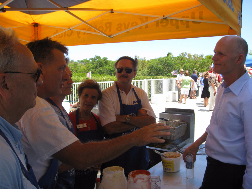 Fish fry for Governor Scott 2011