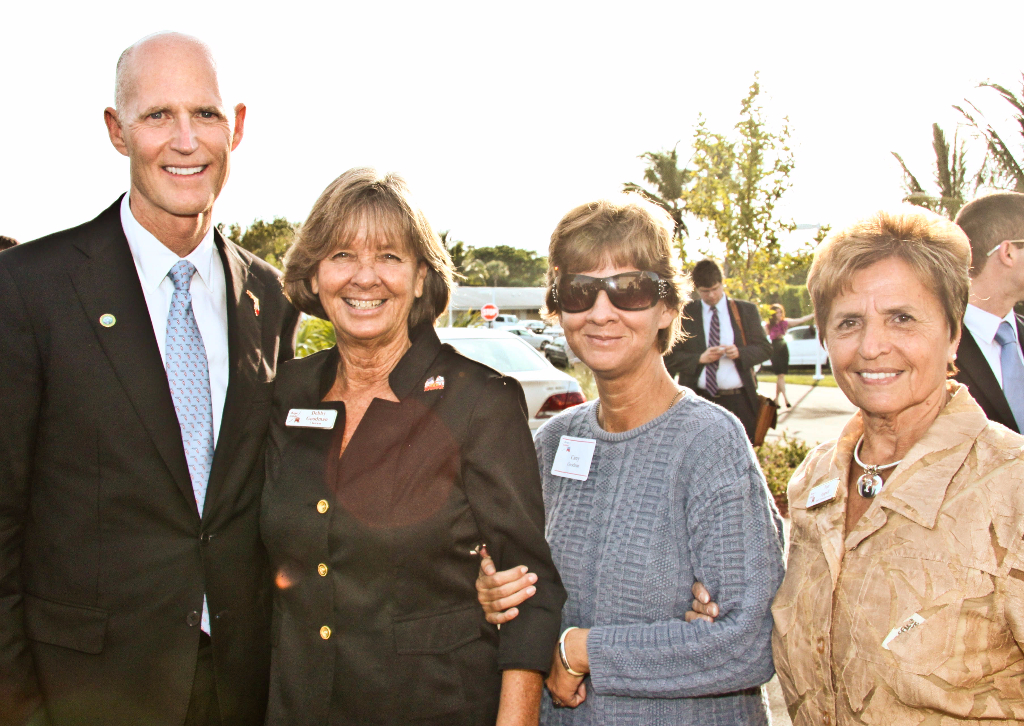 Gov. Scott, Deb, Carey, Toni