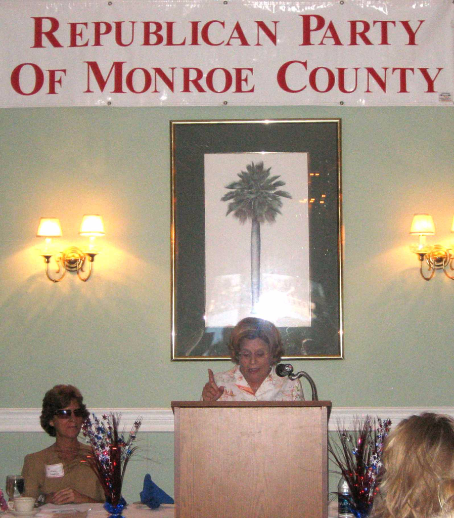 Ileana speaking at 2008 Reagan Dinner